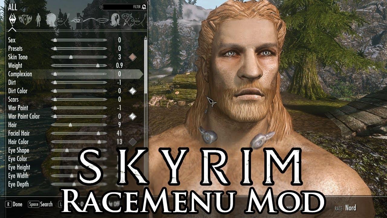Skyrim Mod: RaceMenu