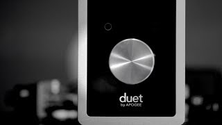 Apogee Duet for iPad, iPhone, and Mac - Unboxing and first use! I r...