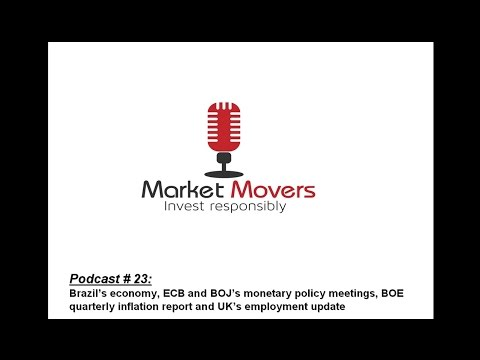 Market Movers #23 - On Brazil, BOJ and ECB