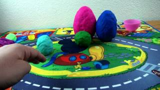 PLay doh surprise eggs for kids