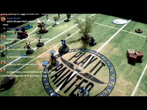 Guild Ball Fishermen vs Masons