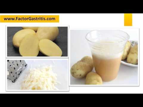 Como Curar La Gastritis Con Papa - YouTube