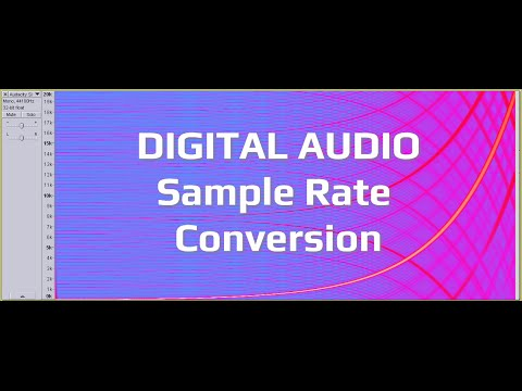 Audacity vs SoundForge - Digital Audio Sample Rate Conversion Benchmark