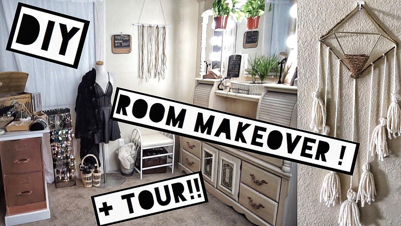 diy closet room. DIY MODERN BOHO CLOSET ROOM TOUR : GOODWILL FLIP Diy Closet Room