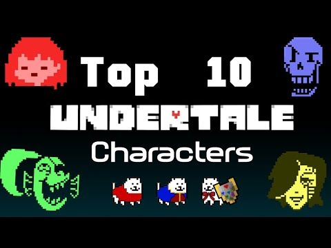 Top 10 Undertale Characters