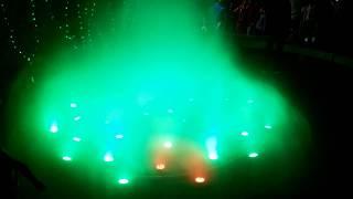 Magical fountatin | Lightning Water at Flower show 2018