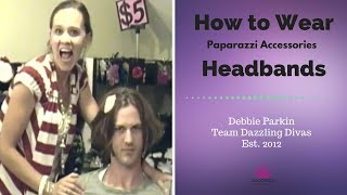 How to wear Paparazzi Accessories Headbands Thumbnail