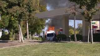10 17 13 Car Fire Roseville pt 1