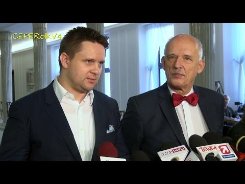 Janusz Korwin-Mikke i Robert Anacki komentują słowa Kaczyńskiego o frankowiczach