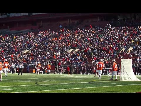 Men's Lacrosse defeats Syracuse in front of record crowd