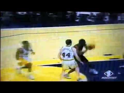 Nba 1998 - Tim Thomas beautiful Dunk - rookie season