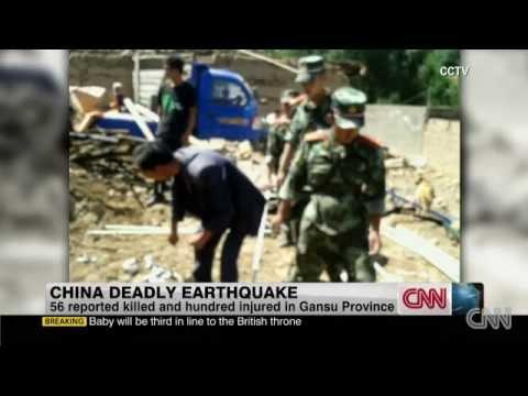Quake hits northwest China