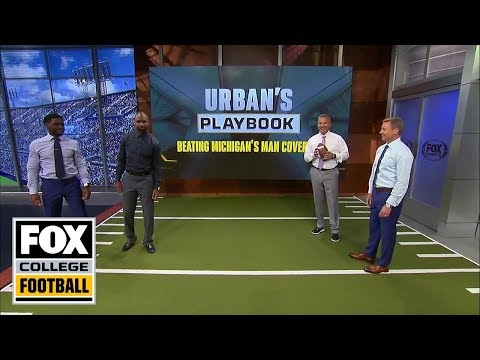 Urban Meyer breaks down how to beat man coverage | URBAN'S PLAYBOOK | FOX COLLEGE FOOTBALL