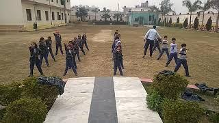 Martial arts by little ones //sharpen public school // sumit rajput //jackiechan