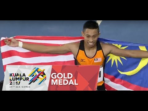 Athletics Men's 100m Finals | 29th SEA Games 2017 - YouTube