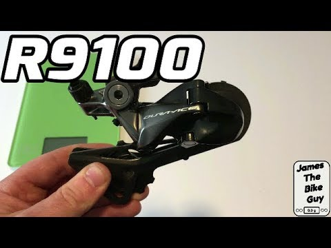 Shimano Dura Ace R9100 Rear Derailleur 11-Speed RD-9100 Review and Weight