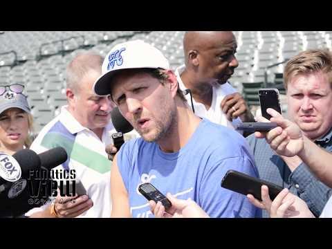 Dirk Nowitzki on Golden State Warriors, Dennis Smith Jr & future of Dallas Mavs