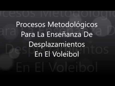 Procesos Metodológicos de desplazamientos en el Voleibol