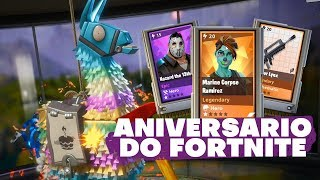 OPENING LHAMAS FOR ANNIVERSARY AND PATCH 5.10 | Fortnite Save the World