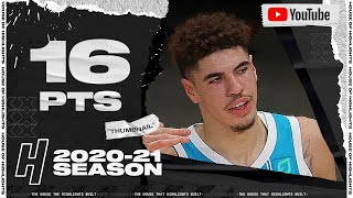 LaMelo Ball 16 Pts 5 Ast Full Highlights vs Hawks | January 6, 2021 | 2020-21 NBA Season