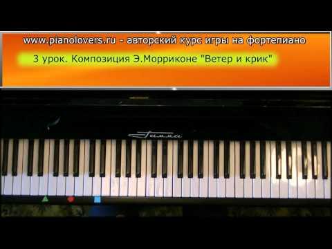 Ноты для фортепиано. Виртуальное пианино