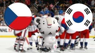 NHL 18 | ZOH 2018 | ČESKÁ REPUBLIKA - JIŽNÍ KOREA | CZ/SK