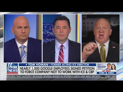 Tom Homan Has Some Hard Facts For Google Employees Who Signed Anti-ICE Petition