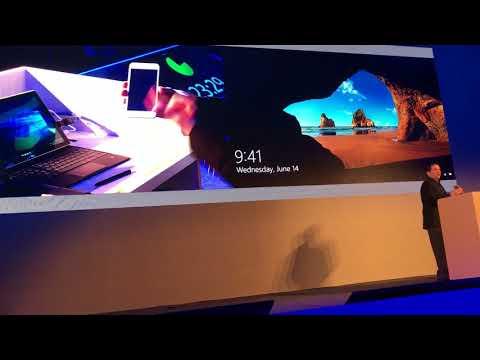 Microsoft demo GO-Trust ID in WinHEC 2017 Workshop