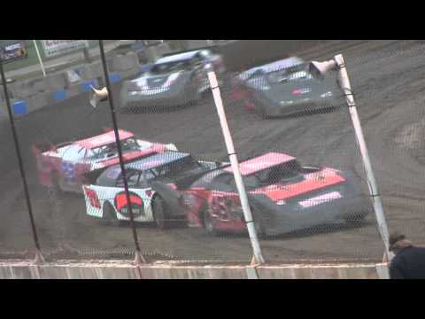 Late Model Heat 2 Crystal Motor Speedway 8-16-14