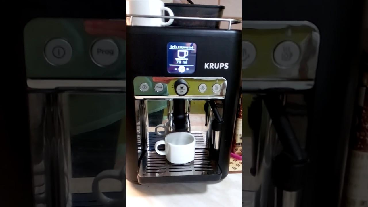 кофемашина krups инструкция на русском видео