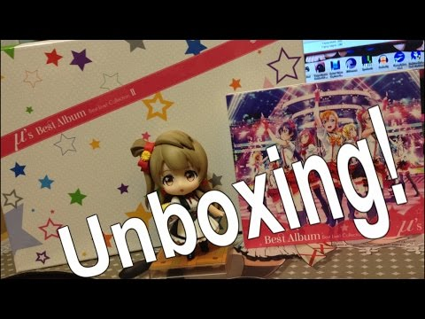Rad's UnBoxing: μ's Best Album Best Live! Collection II [Limited Edition]