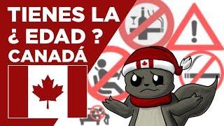 EDAD MÍNIMA EN CANADÁ - LA LEY - Conociendo Canadá