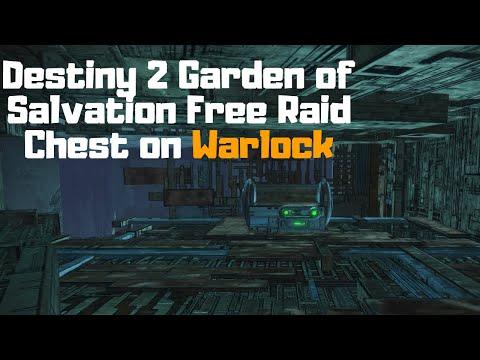 Destiny 2 Shadowkeep: Garden of Salvation Free Raid Chest (Warlock)