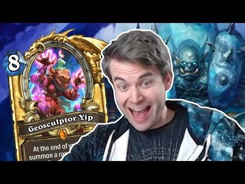 (Hearthstone)The Power Of Geosculptor Yip