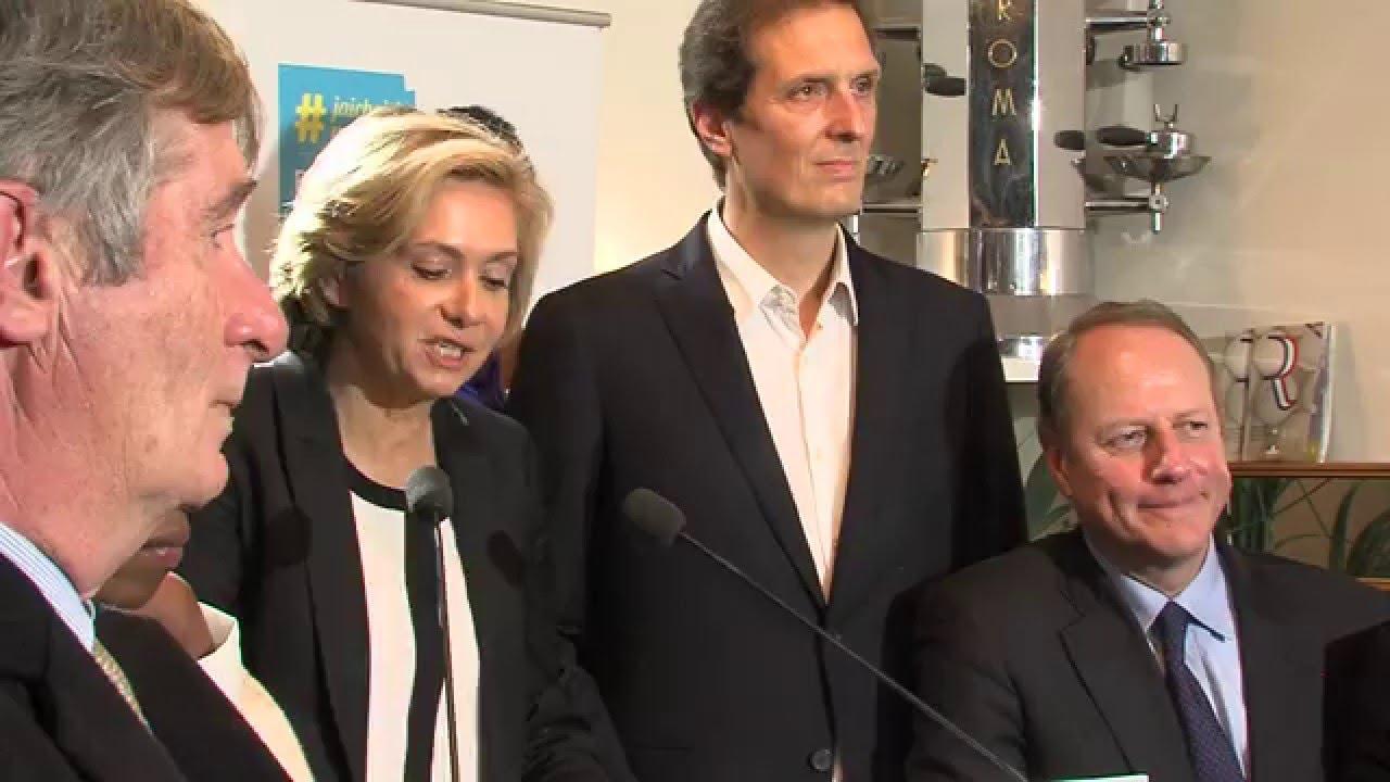 Régionales 2015 : Valérie Pécresse (LR) l'emporte en Île-de-France