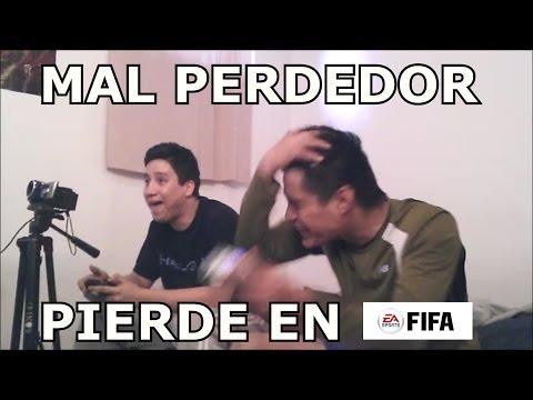 Cuando un mal perdedor pierde en Fifa