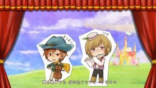 【大盛り合唱】骸骨楽団とリリア // Gaikotsu Gakudan to Riria (Oomori Chorus ver.) - Nico Nico Chorus thumbnail