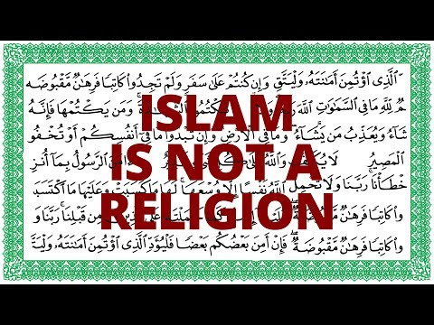 The Vortex—Islam Is Not a Religion