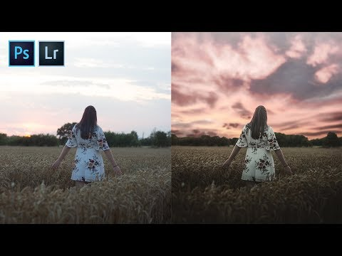 SUPER EASY Sky Replacement Tutorial (Adobe Photoshop 2019) thumbnail