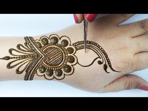 New Arabic Mehndi Designs Trick - Easy Beautiful Mehndi Design for Hands| BeautyZing