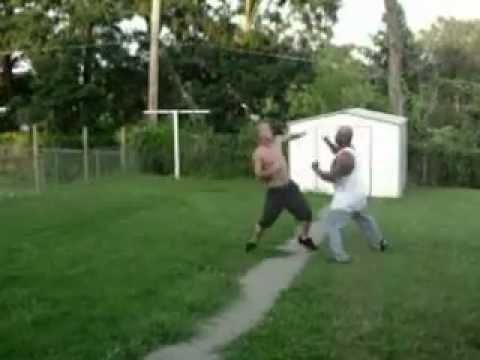 omaha fights/ whiteboy v.s black guy
