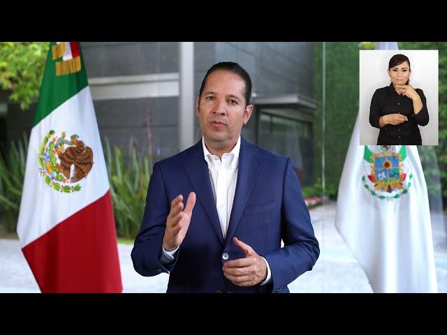 Querétaro en Escenario B a partir deeste viernes, anuncia el Gobernador