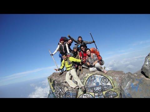 ProyectoGuateMayaTV - Hacia Guatemala - Volcan Santa Maria