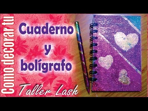 Como decorar tus cuadernos con foami facil funnydog tv - Como decorar cuadernos ...