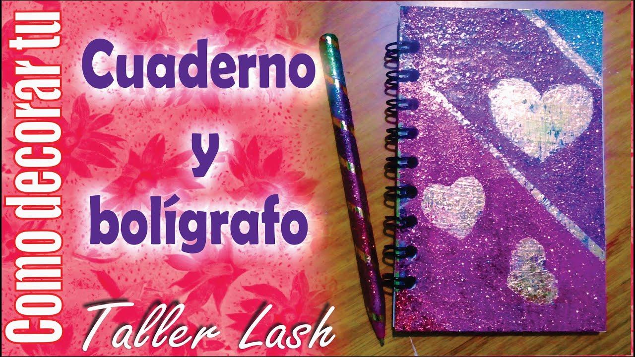 Regreso a clases decora tu cuaderno y boligrafo youtube - Como decorar una buhardilla ...