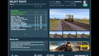 Trainz Mac 2 Review/Gameplay