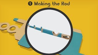 Making the Toy-Con Fishing Rod ~ 1/5 Making the Rod - LABO 01 VARIETY KIT - NO COMMENTARY
