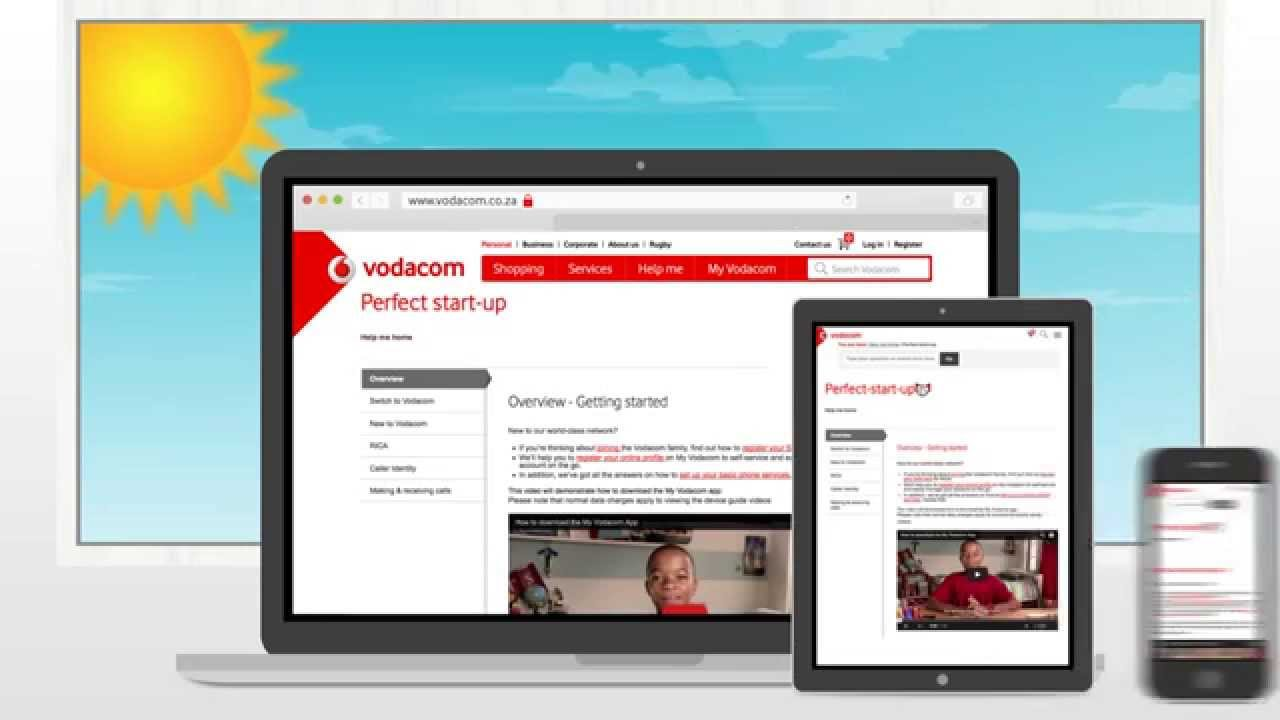 Shopping Why Buy Online Vodacom