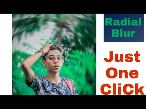 || Radial Blur || Just One Click In Picsart Photo Editing Step By Step ||  SK editz