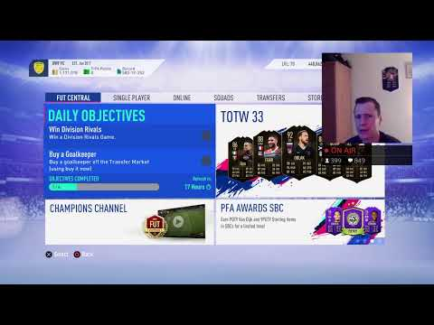 FUT CHAMPIONS WEEKEND LEAGUE #19 p2 (FIFA 19) (LIVE STREAM) thumbnail